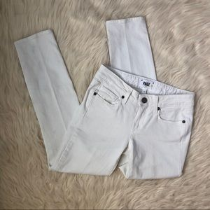 PAIGE White Kylie Cropped Jeans